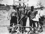 """Foto del comandante """"Fausto"""" della Divisione """"Piacenza"""" al  Monticello (Fausto Cossu, Tempio Pausania 1915 -  Piacenza, 16 aprile 2005; avvocato)"""