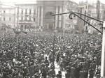 Piazza Garibaldi il 9 maggio 1945
