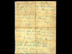 Lettera di addio di Adelio Pagliarani alla madre, 16 agosto 1944 (retro)