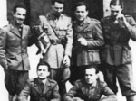 Un gruppo di militari dell'86° Battaglione territoriale che partecipò alla Resistenza contro i tedeschi il 9 settembre 1943
