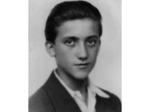 Giorgio Gasperini all'età di 18 anni: uno dei partigiani uccisi durante i combattimenti per la Liberazione di Piacenza