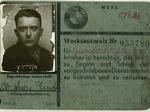 Parte degli internati militari sono costretti a lavorare per le industrie tedesche. Questo documento era di un internato modenese.