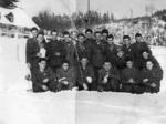 Un gruppo di internati militari italiani in Germania.