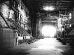 Il Teatro Farnese gravemente danneggiato dalle bombe