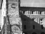 Il Palazzo della Pilotta danneggiato dal bombardamento