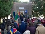 Commemorazione al Sacrario di Madonna dell'Albero