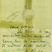 Lettera di Agapito Latini inviata al figlio Mario il 13 giugno 1944 dal carcere di Forlì