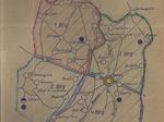 Cartina della 78a brigata Garibaldi SAP.