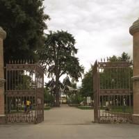 Ingresso del Giardino pubblico di Cesena oggi (foto dell'autore)