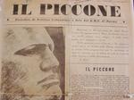 """""""Il Piccone in montagna"""", organo della 143a (già 47a) Brigata Garibaldi, 12 aprile 1945"""