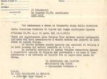 Documento che ordina l'accertamento dello stato di salute fisica per tutti gli arruolati nelle Brigate Nere.