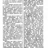 Articolo di Pino Romualdi, pubblicato sulla Gazzetta di Parma il 3 dicembre 1943, sulle disposizioni antisemite del Manifesto di Verona