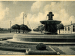 Fontana piazza stazione ferroviaria e viale della Libertà