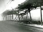 La stazione bombardata