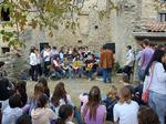 Concerto di studenti durante la Scuola di Pace.