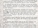 Lettera del questore di Parma sul processo ai partigiani catturati sul Montagnana, 20 aprile 1944