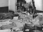 Documenti bruciati nella sede della SD