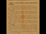 Volantino della Prefettura repubblicana di Piacenza