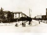 Viale della Libertà vista da Piazza della Vittoria