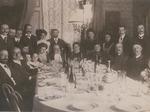 La famiglia Donati - una delle più influenti della comunità modenese - nel 1907.