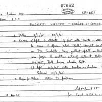 Record of Service Folegatti Vincenzo, 9 Marzo 1945